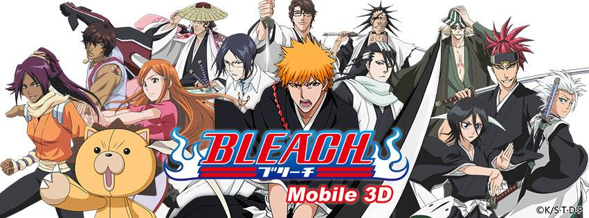 New Game Launch: Bleach Mobile 3D OBT