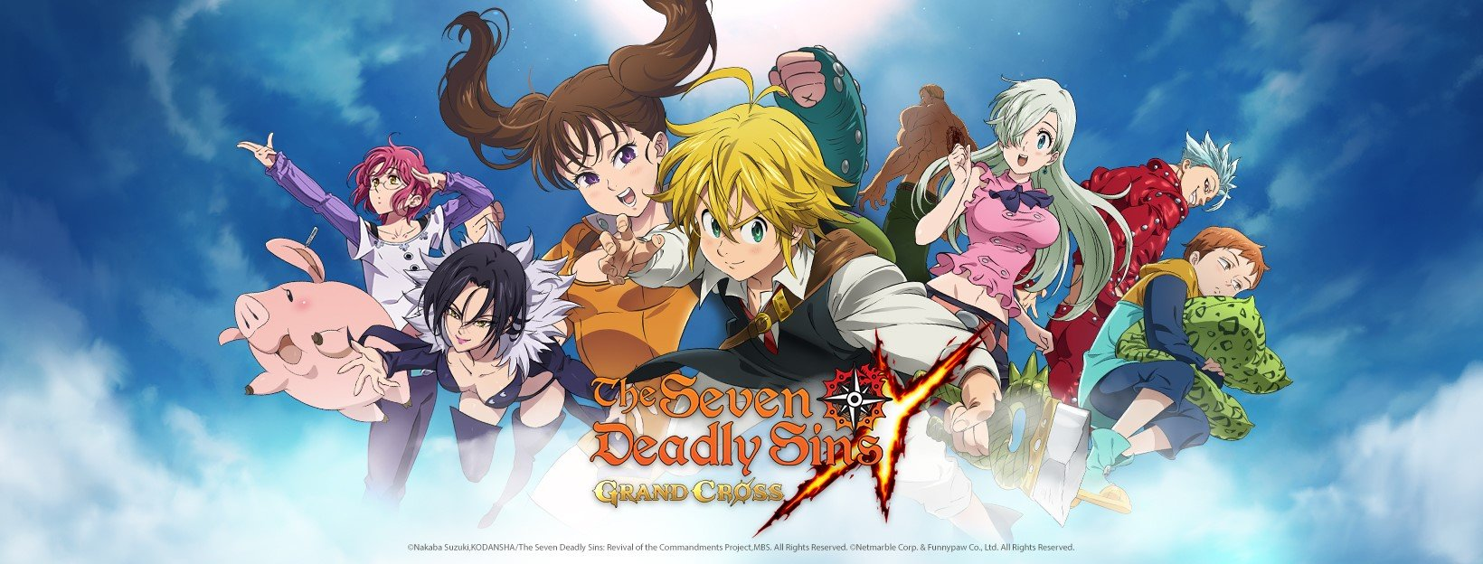 The Seven Deadly Sins: Grand Cross - Global Launch 2020