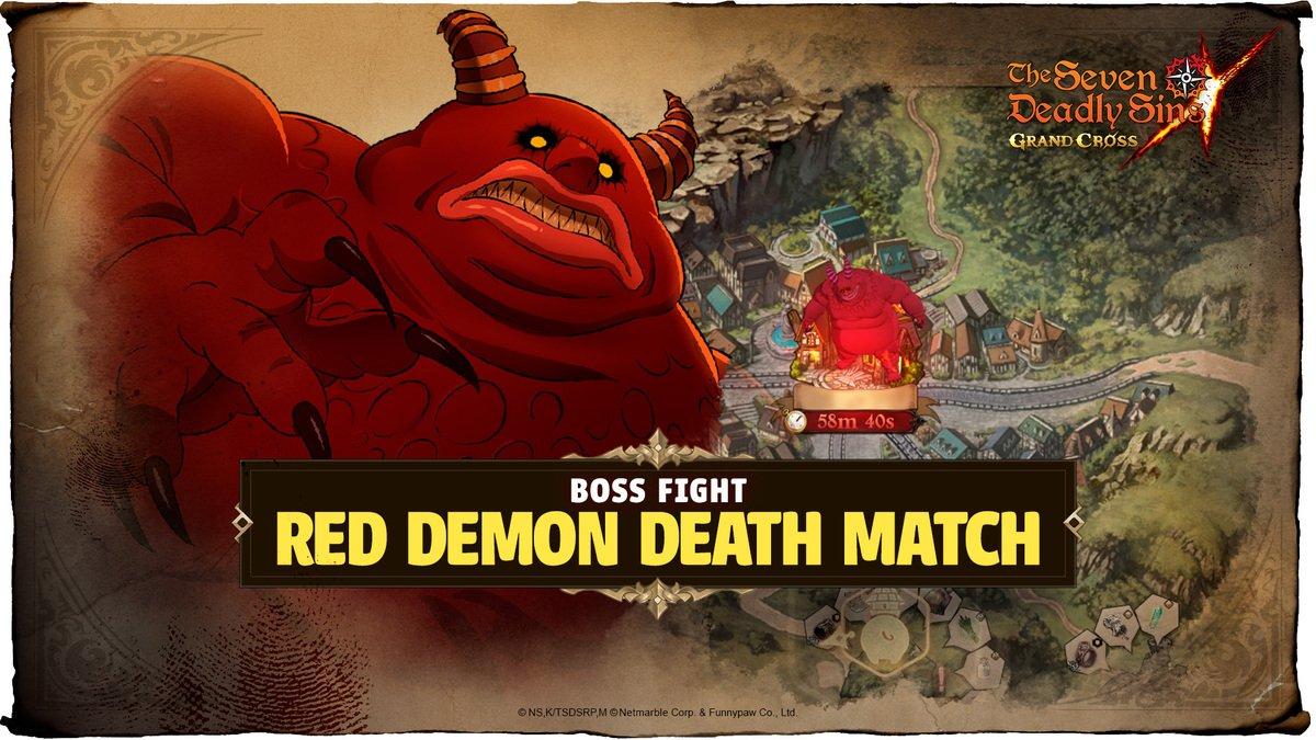 Seven Deadly Sins: Grand Cross - Demon Raid (Red)